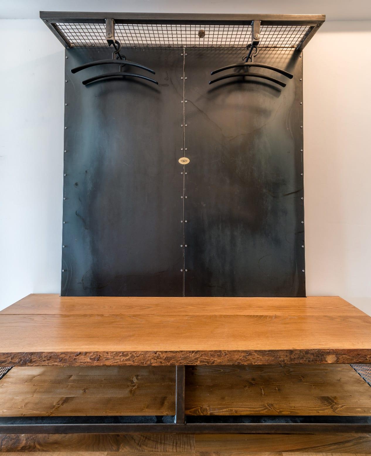 VINDU-Stylez, Garderobe, Appartment 53, Industrial & Vintage | Möbeldesign | Reith bei Seefeld, Tirol, Österreich | MSC Fabian Knes